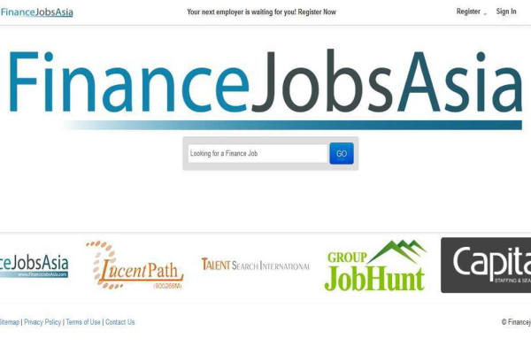 finance jobs asia main